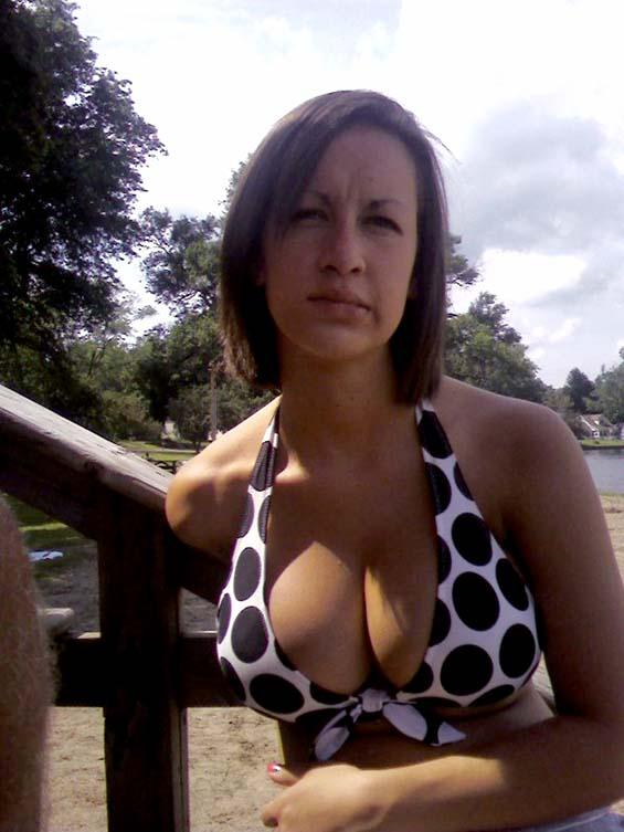 Amateur with beautiful breasts - 2