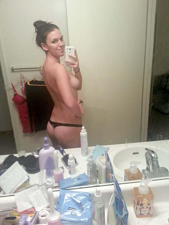 Today she is showing her selfies - 2