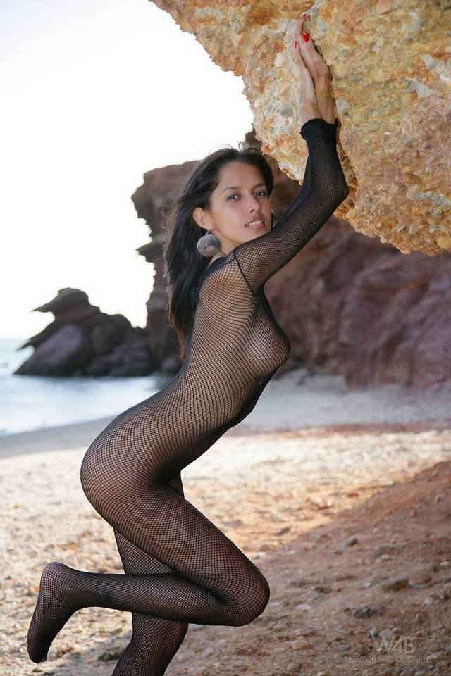 Sexy Latina in sexy bodystocking - Celeste - 3