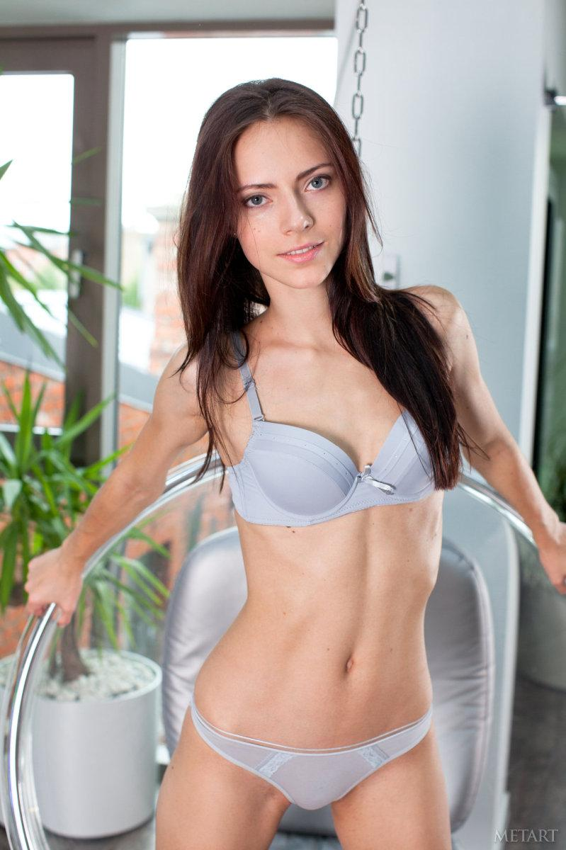 Slim girl with angel face - Christel A - 1
