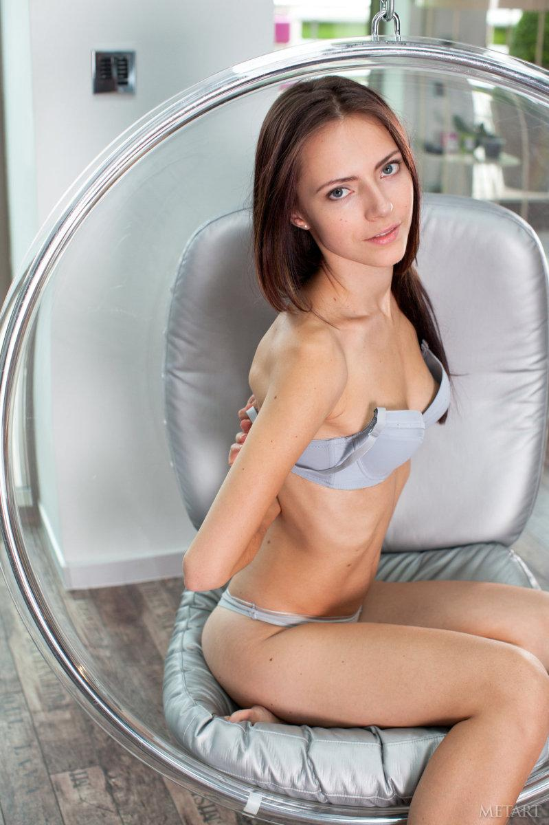 Slim girl with angel face - Christel A - 2