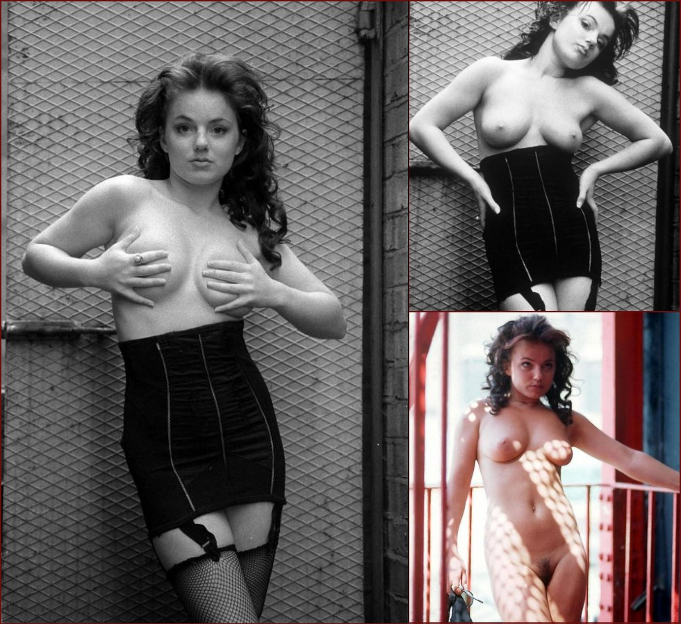 Geri Halliwell in Playboy in 1998 - 1998