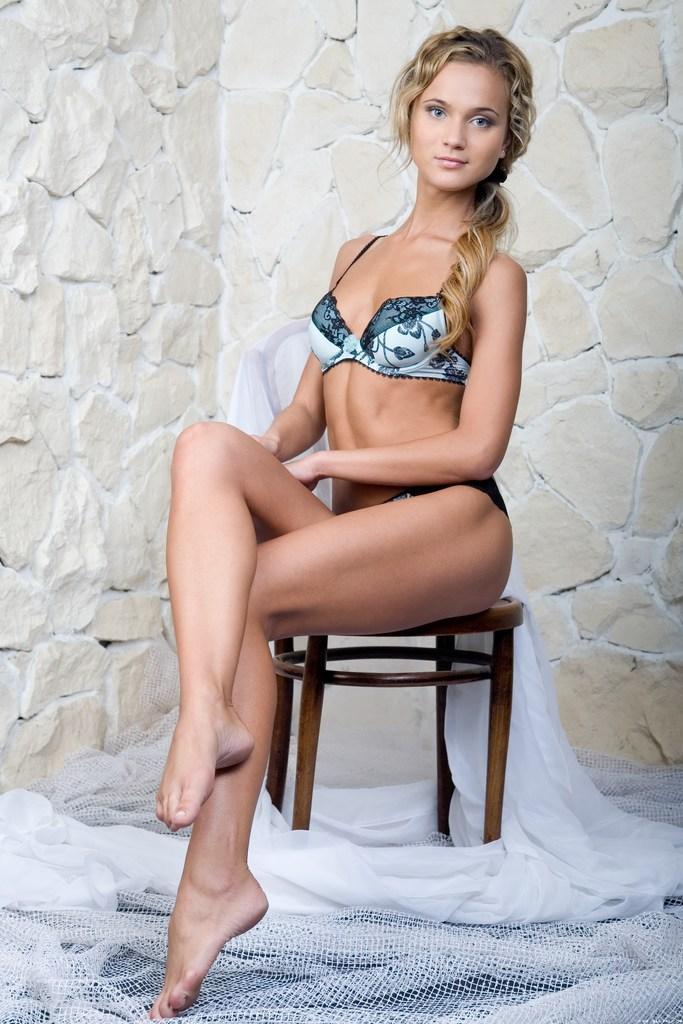 Wonderful blue-eyed blonde shows young body - Carol A - 4