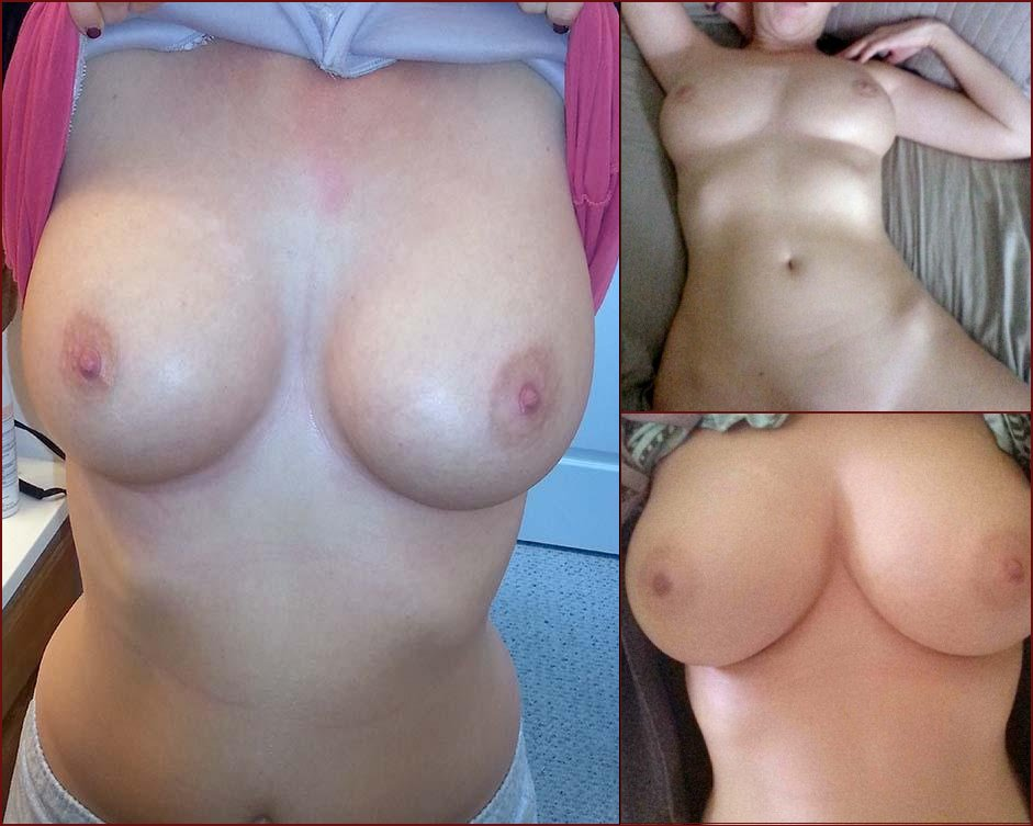 Blonde with huge boobs and shaved pussy - 39