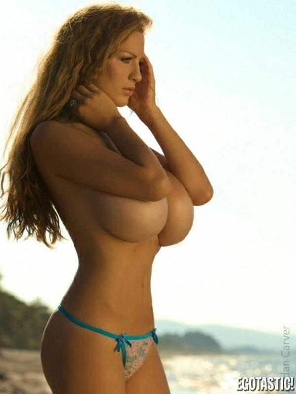 The biggest natural breasts in Europe - Jordan Carver - 5
