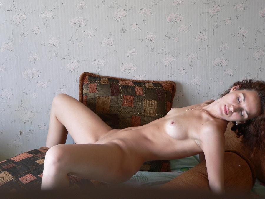 Horny amateur Lena is spreading her legs - 11