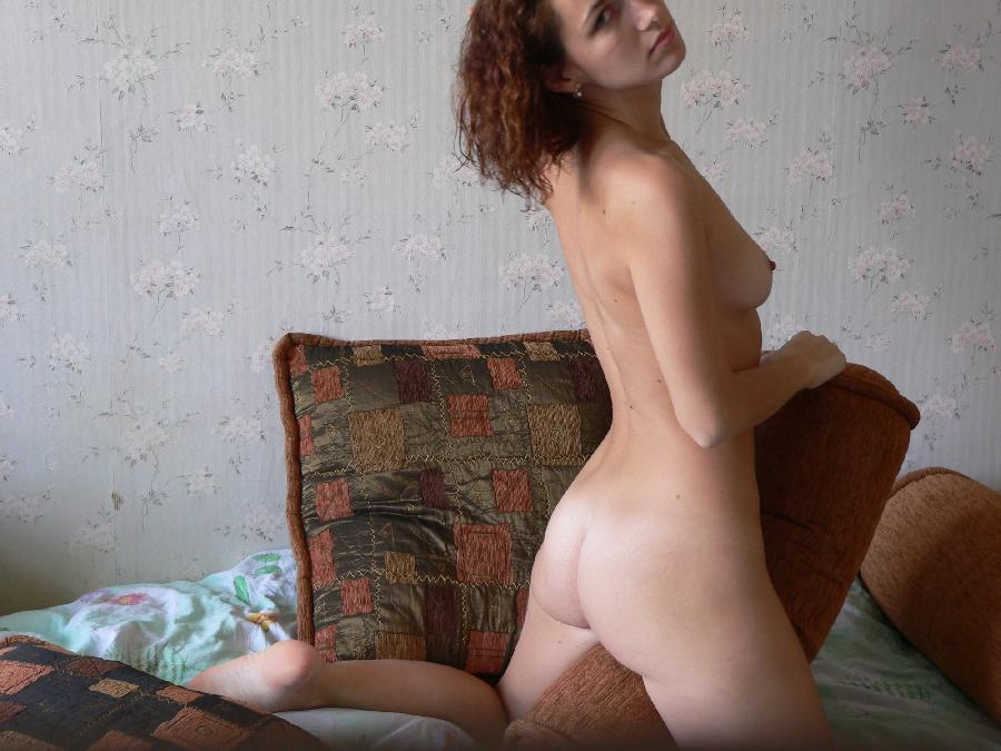 Horny amateur Lena is spreading her legs - 6