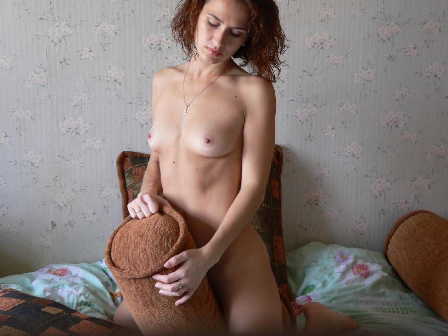 Horny amateur Lena is spreading her legs - 7