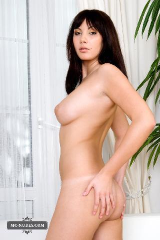 Strange Naked Brunette On White Sofa Connie Carter 15 Pics Pdpeps Interior Chair Design Pdpepsorg