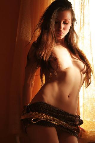 Sensual seductress is tempting on chair - Sofi S
