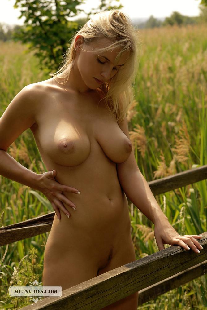 Natural boobs nude