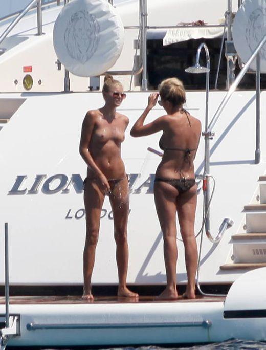 Leonardo DiCaprio's ex Toni Garrn topless - 1