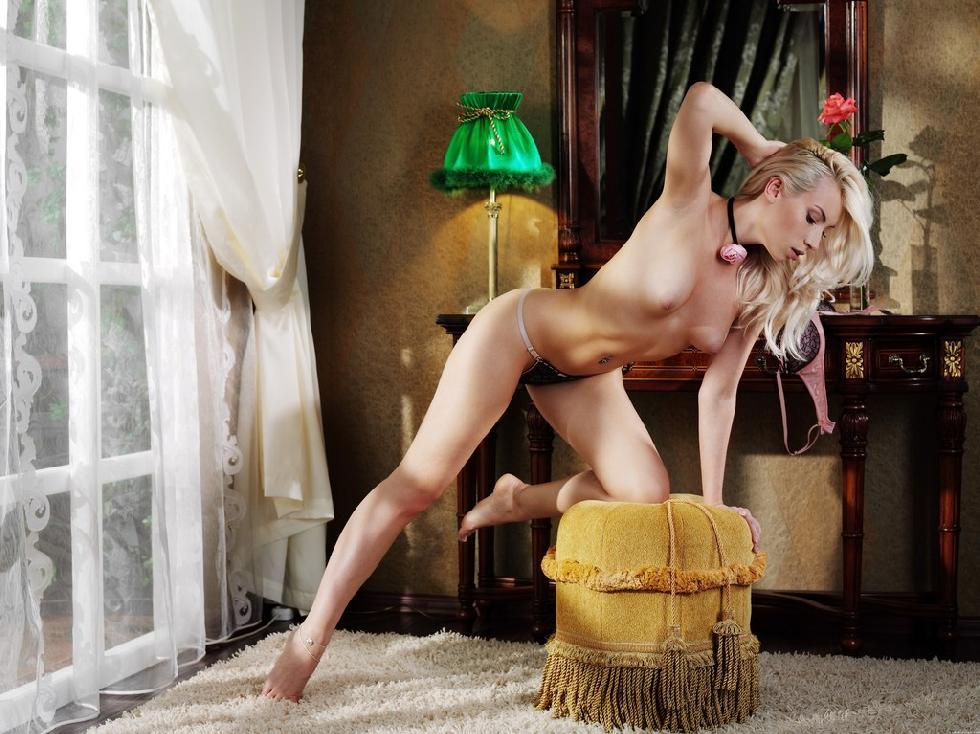 Wonderful blonde in soft erotic session - Adele B - 7