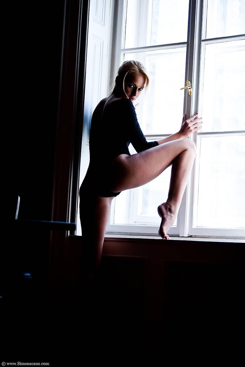 Ivana by the window sex 3