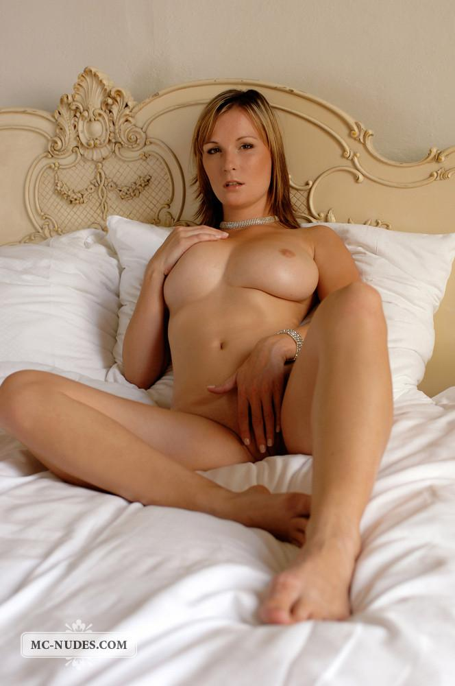 Sensual blonde is once again exposing  her fantastic breasts - Miriam - 14