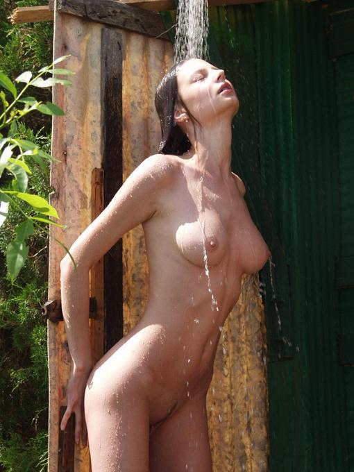 Nude outdoor shower room photoes opinion you
