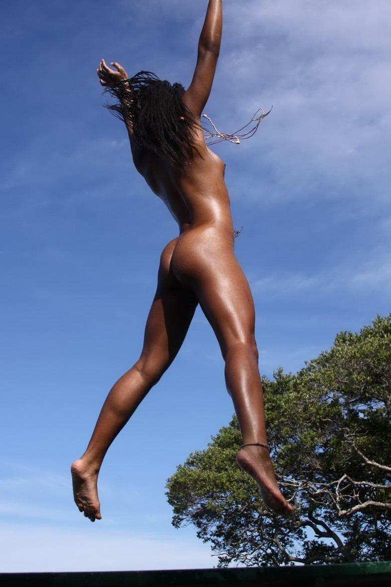 Have thought Ebony models girls dancing naked