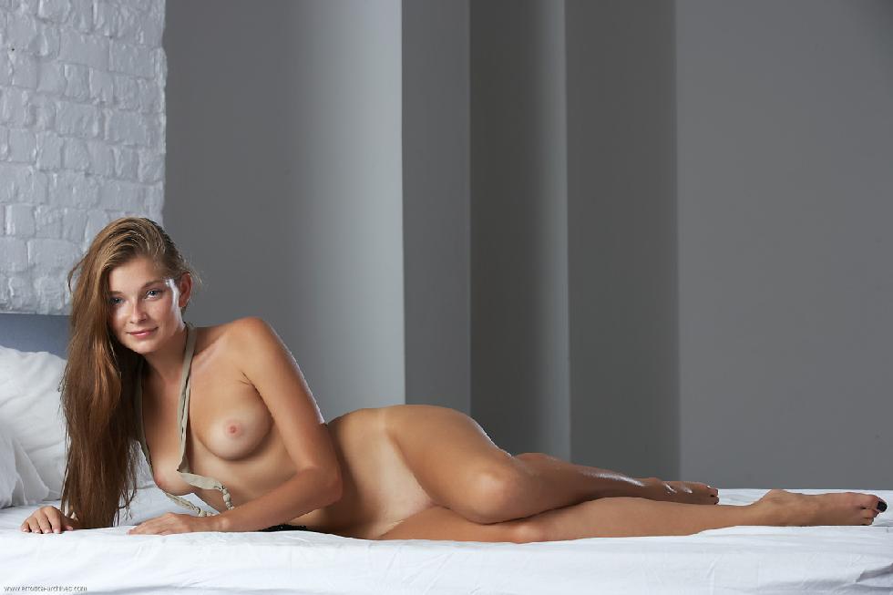 Innocent blonde big tits long leggs