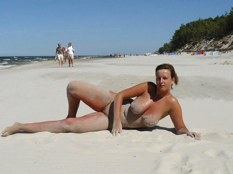 Naked girls on the beach. Part 1 - 1