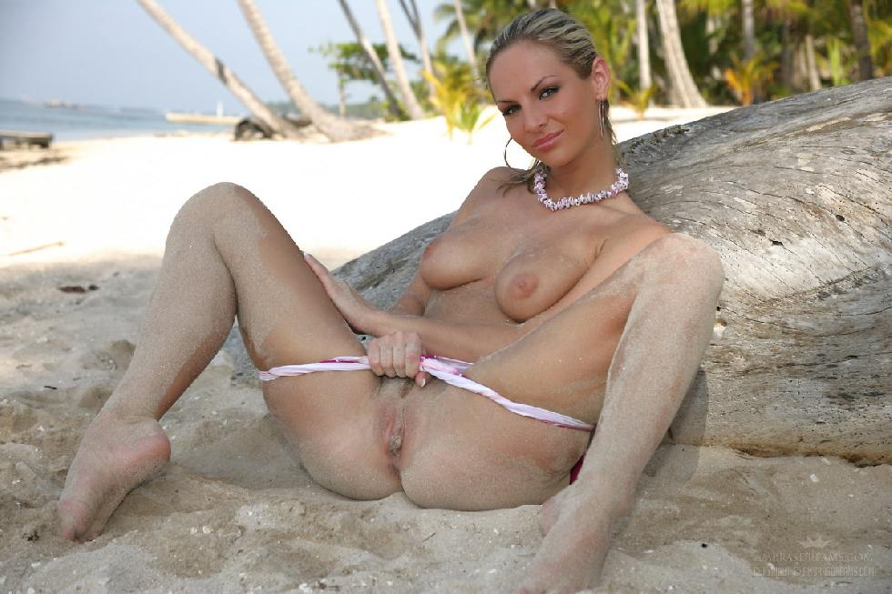 Naked girls on the beach. Part 1 - 10