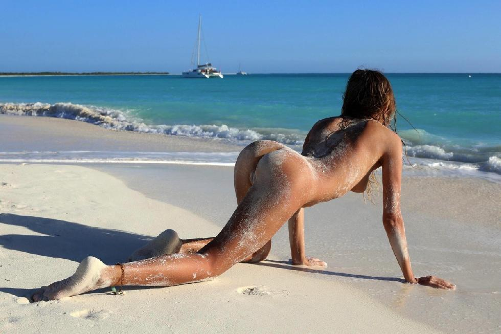 Naked girls on the beach. Part 1 - 24
