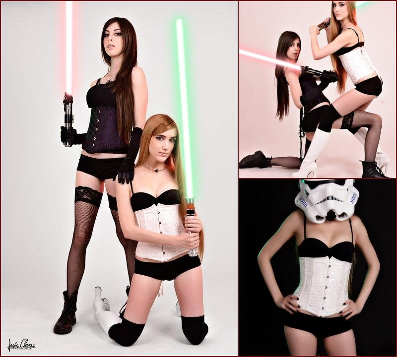 Two fans of Star Wars - Hekady & Misato - 27