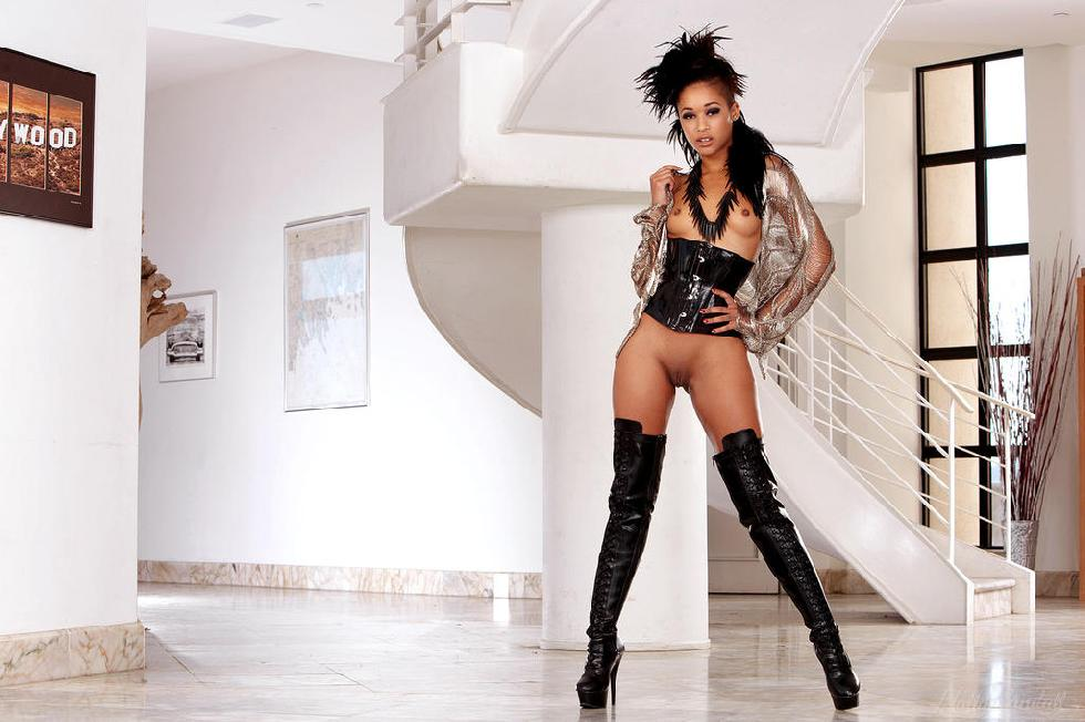 Amazing ebony named Skin Diamond - 1