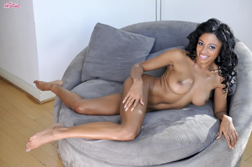 Busty and sexy ebony - Anya Ivy - 10