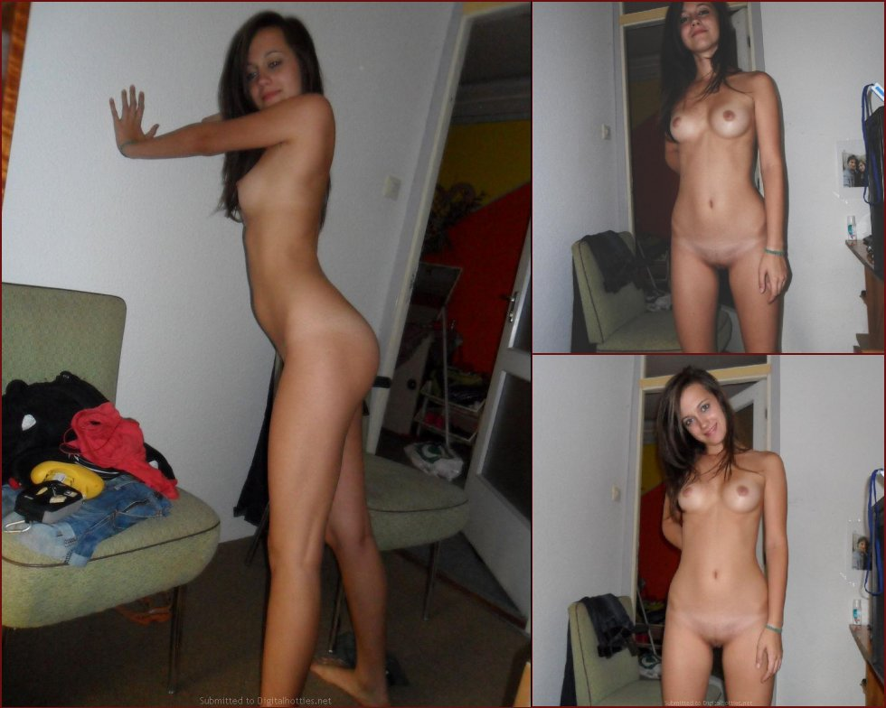 Young amateur is posing naked for you - 102