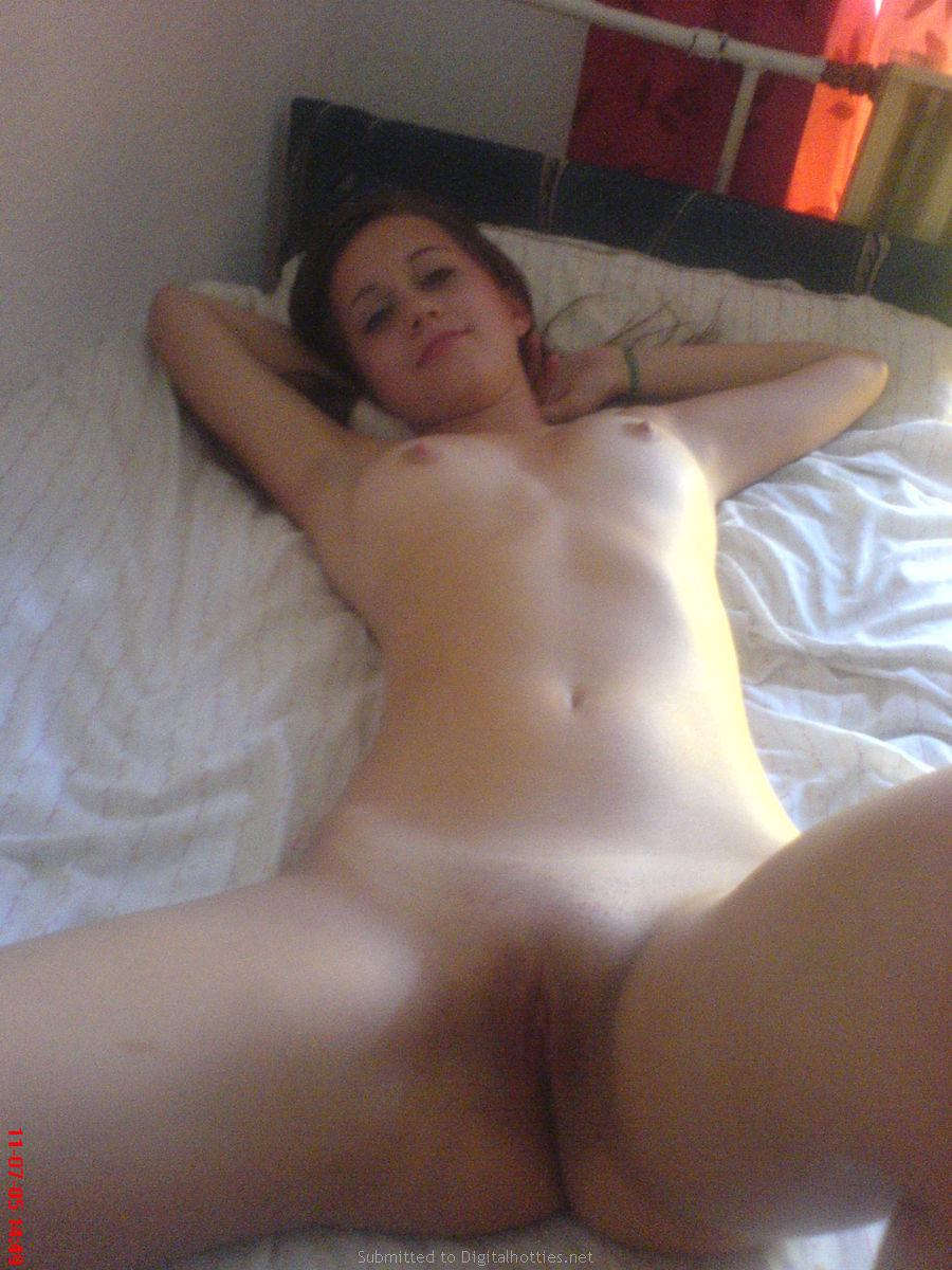 Young amateur is posing naked for you - 12