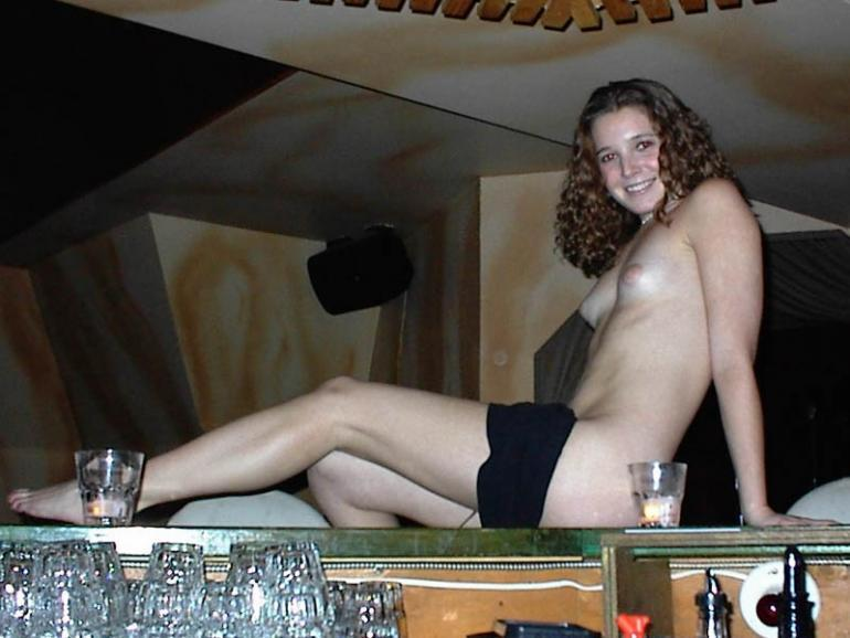 slim young girl is posing in a bar 11 pics erooups