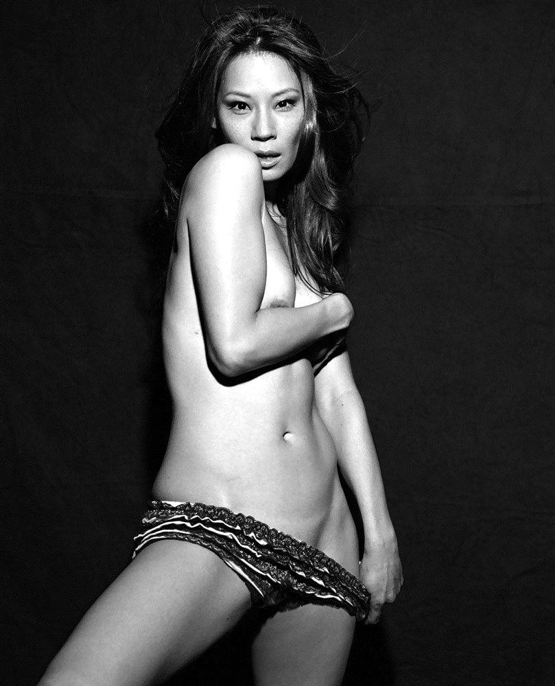 Naked session with Lucy Liu - 2