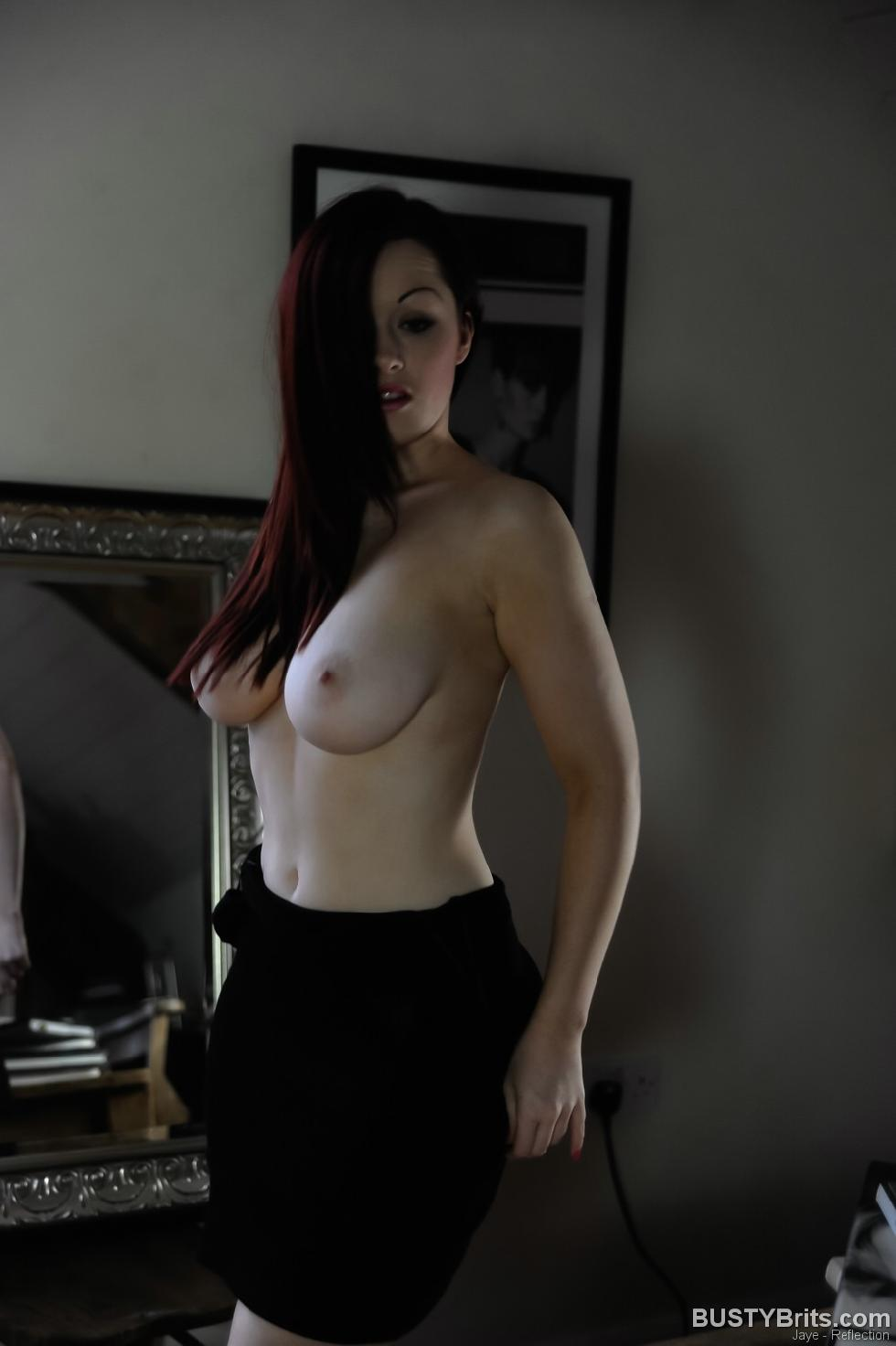 Jaye is showing her sweet boobs - 1
