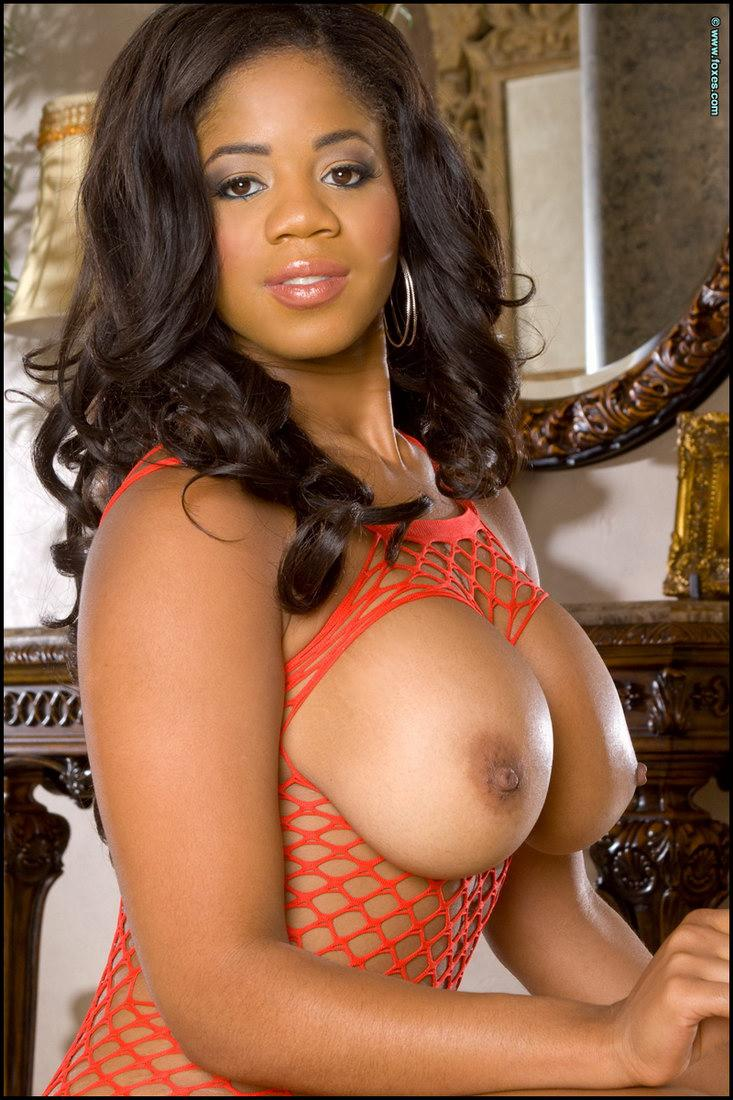 Sexy ebony with huge boobs - Eden Evans - 6