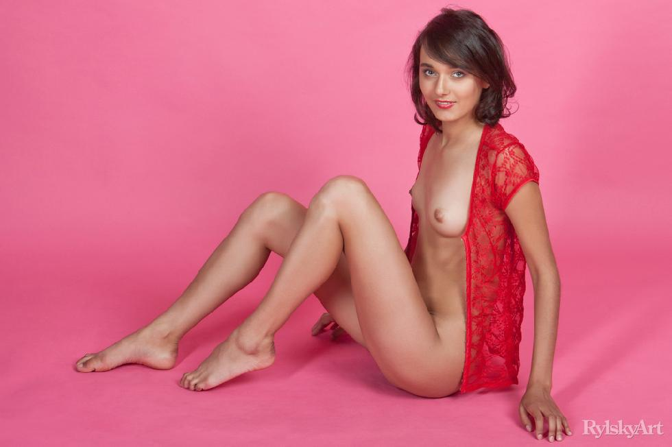 Gorgeous young girl with hairy pussy - Chandra - 6