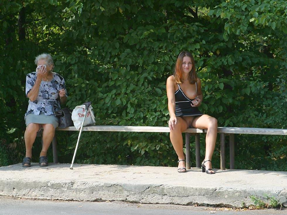 Nude in public places - Ivette - 11