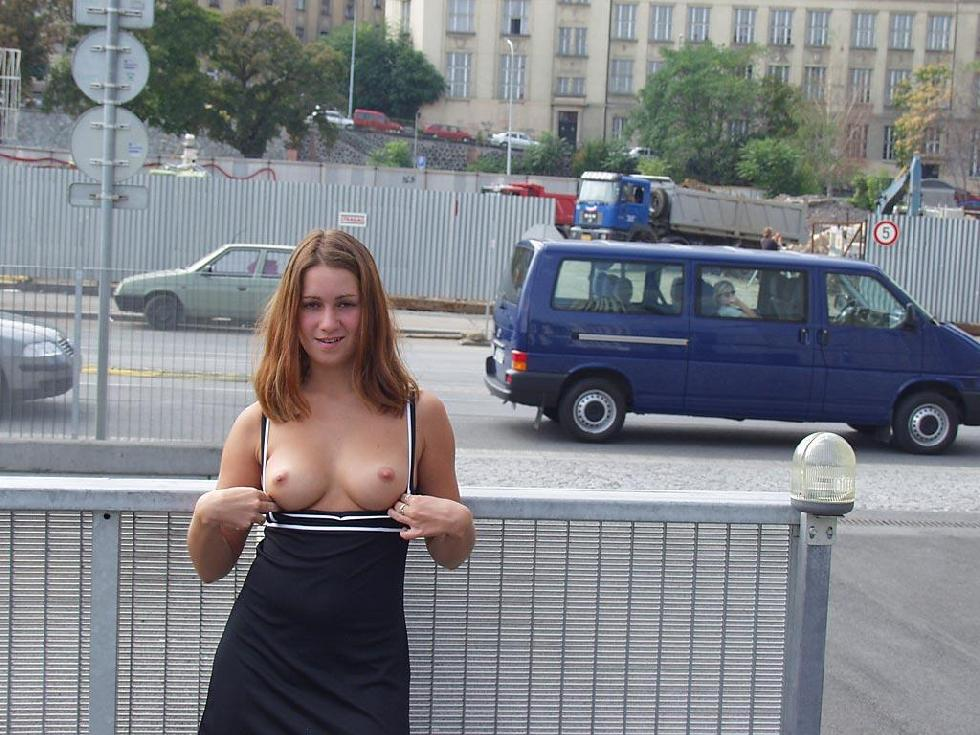 Nude in public places - Ivette - 13