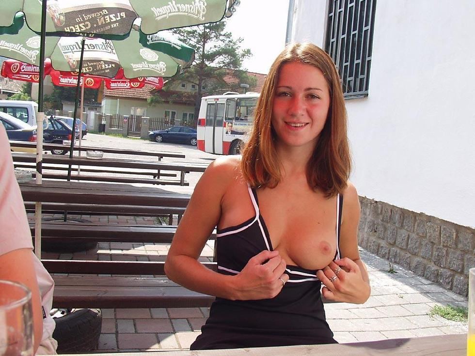 Nude in public places - Ivette - 5
