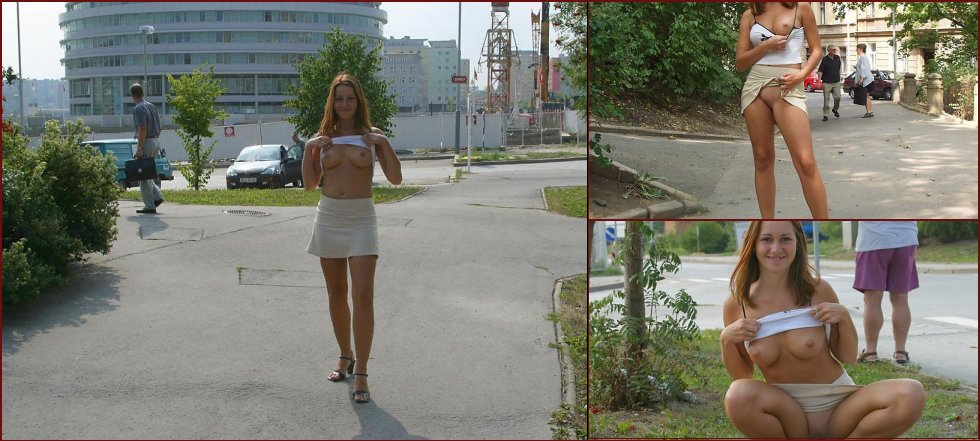 Once again nude in public places - Ivette - 12