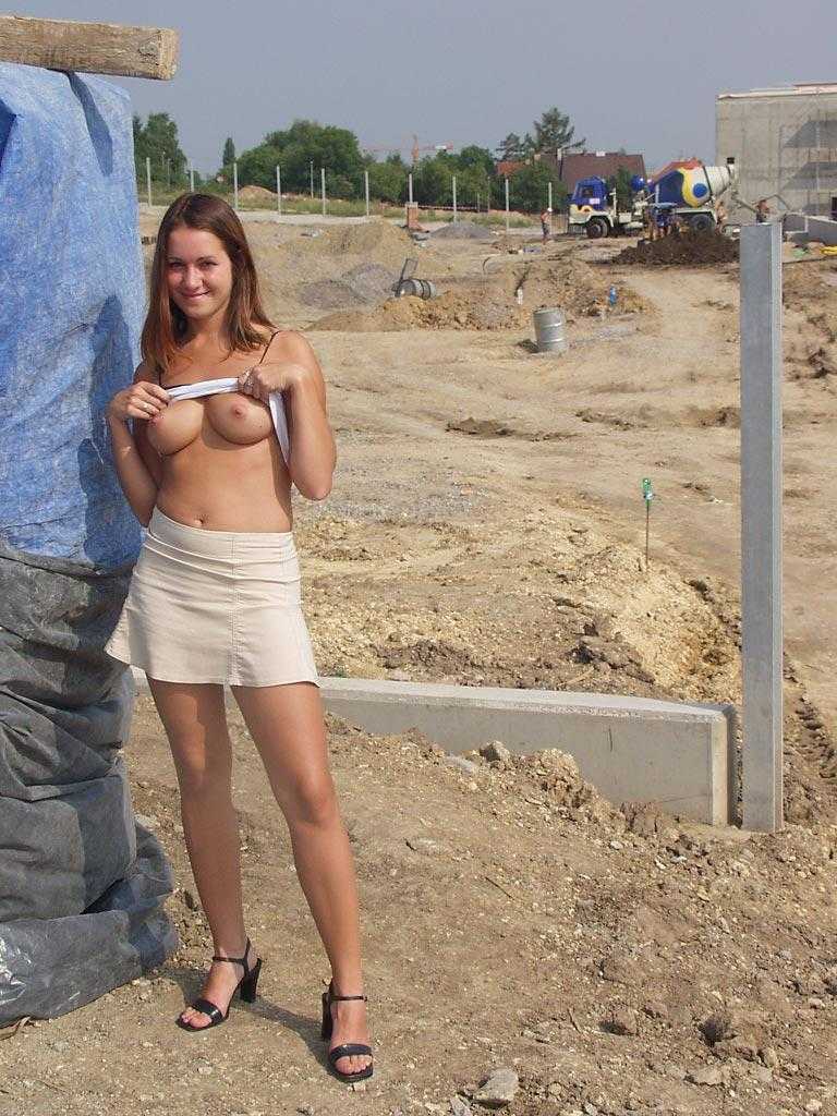 Once again nude in public places - Ivette - 17