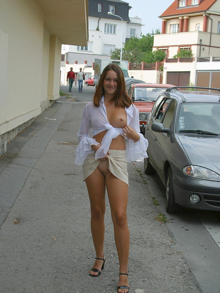Once again nude in public places - Ivette - 19