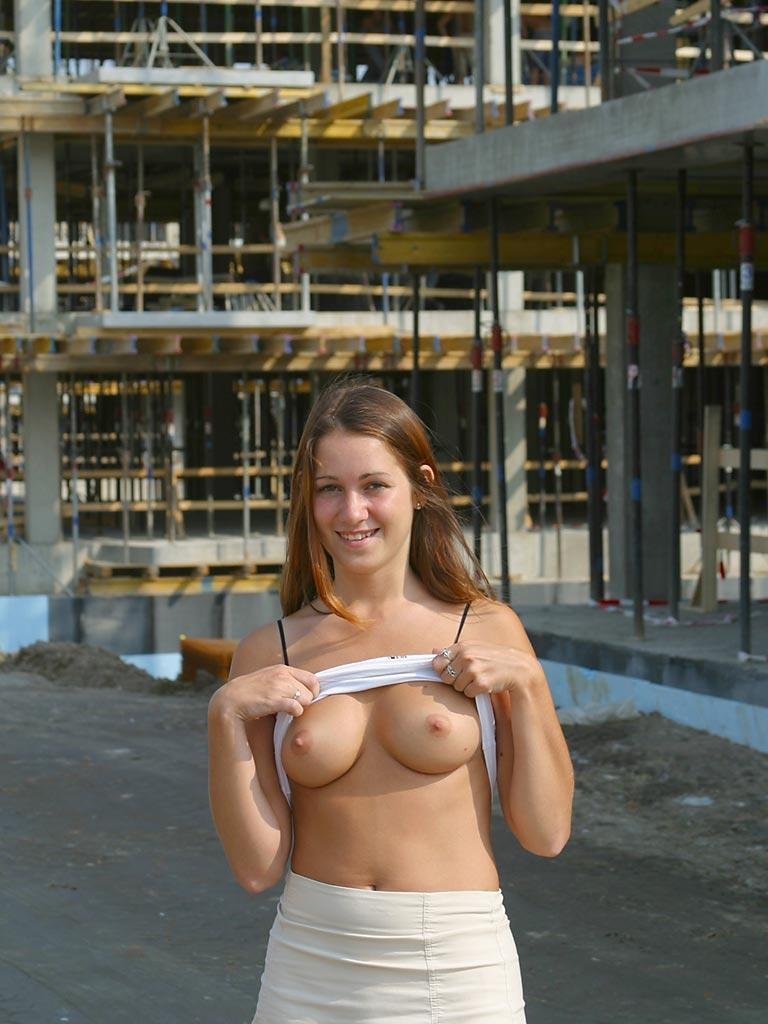 Once again nude in public places - Ivette - 5