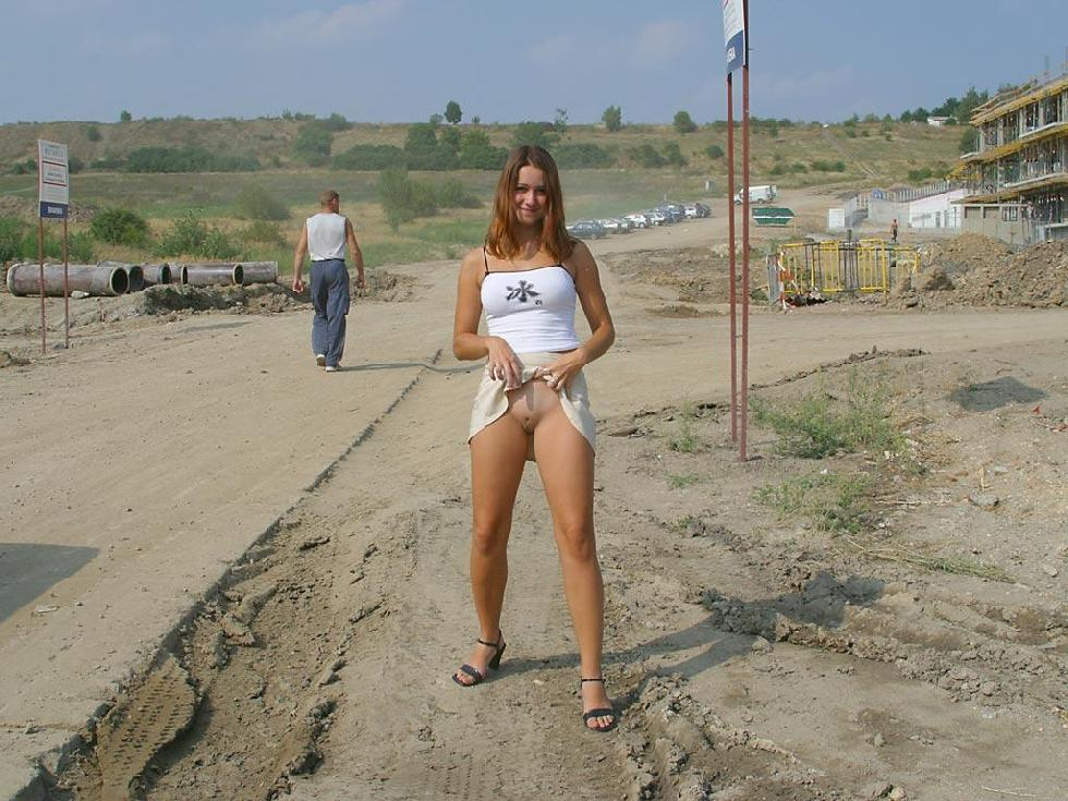 Once again nude in public places - Ivette - 6