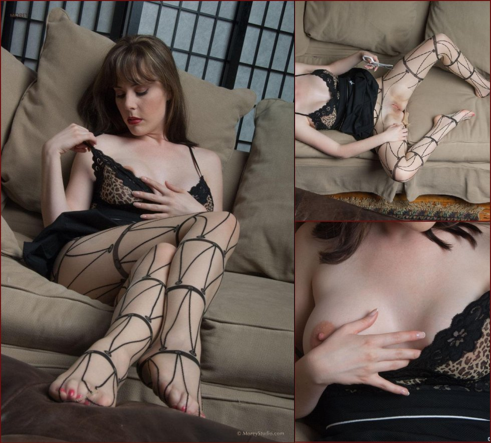 Horny MILF in pantyhose - Heather. Part 2 - 2