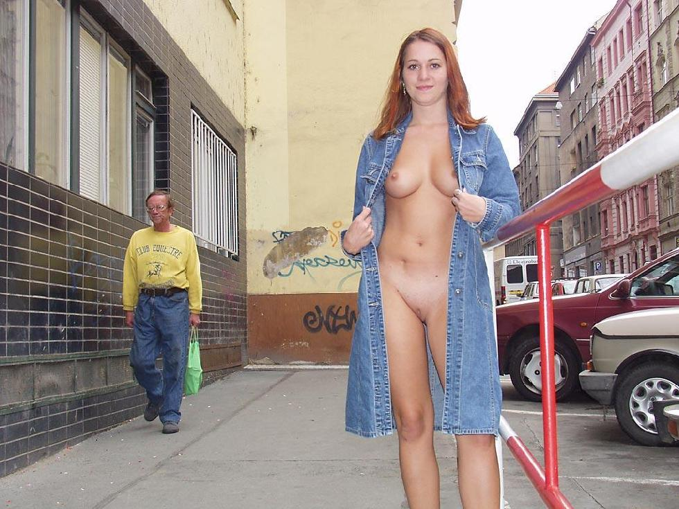 Third time nude in public places - 17