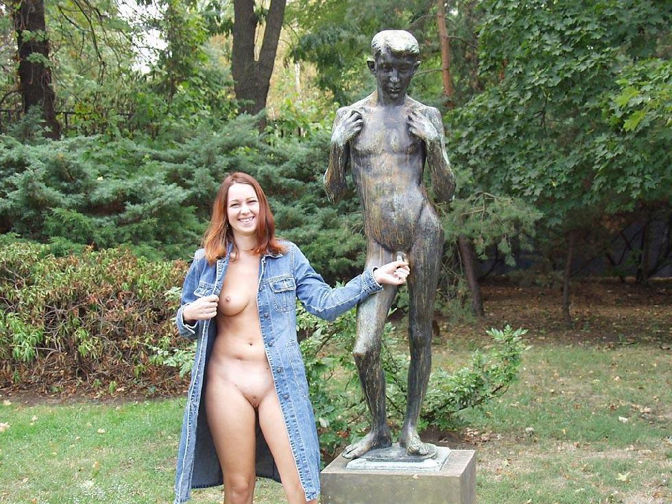 Third time nude in public places - 20