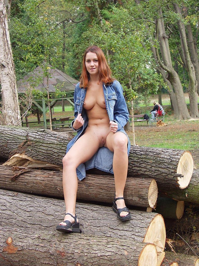 Third time nude in public places - 24