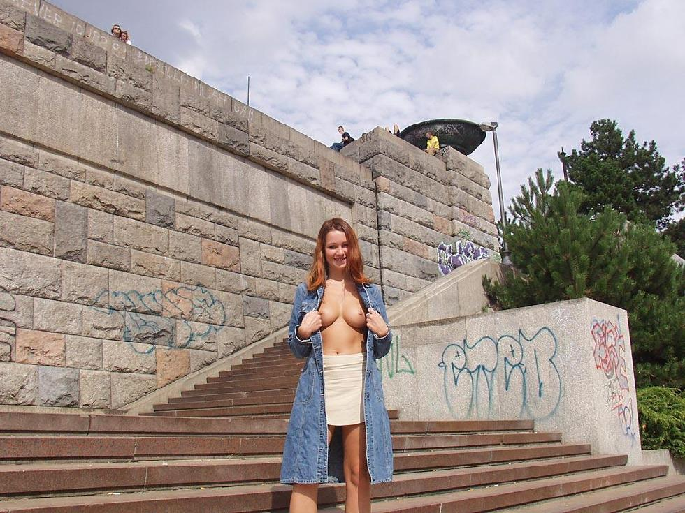 Third time nude in public places - 6