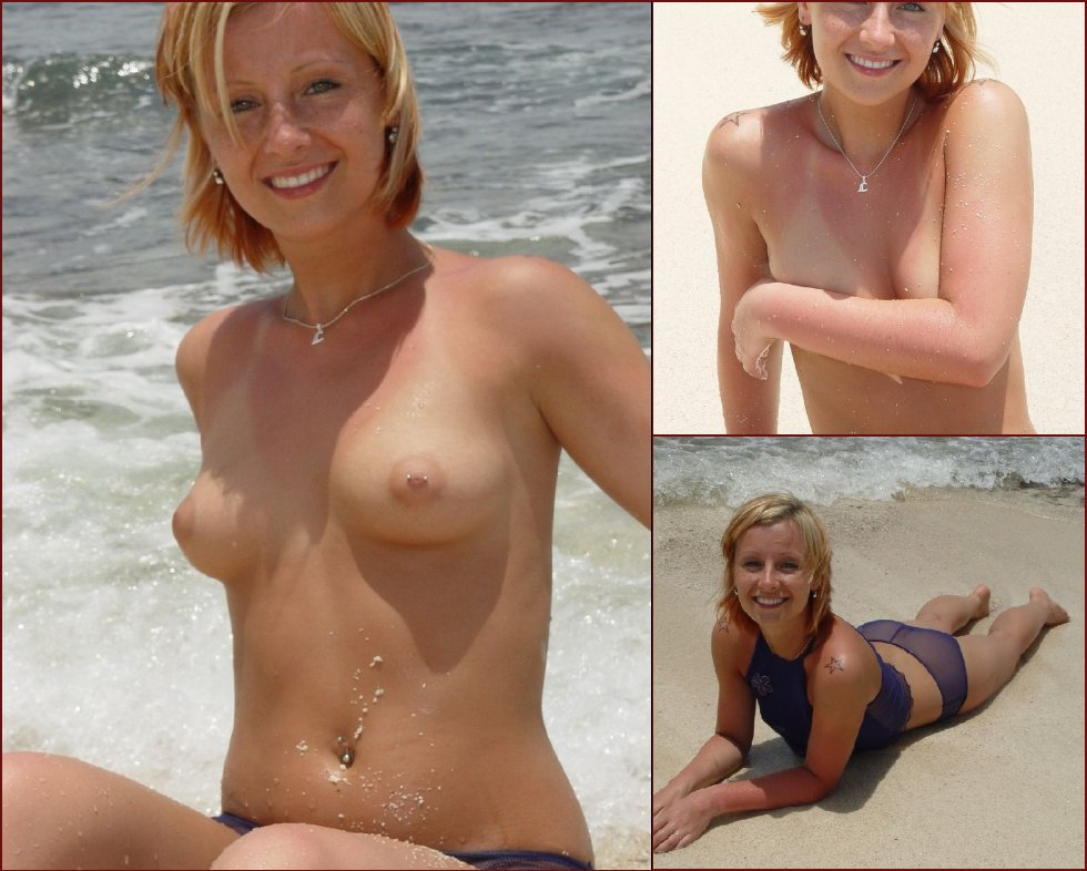 Nice MILF on the beach - Lena - 40