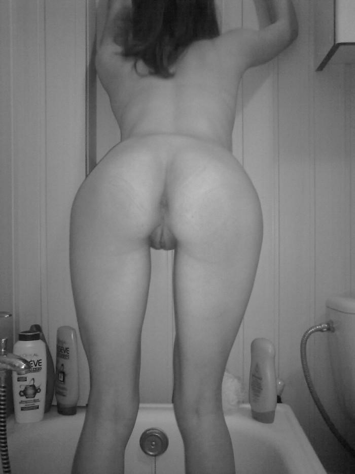 Black and white session with hot wife - 8